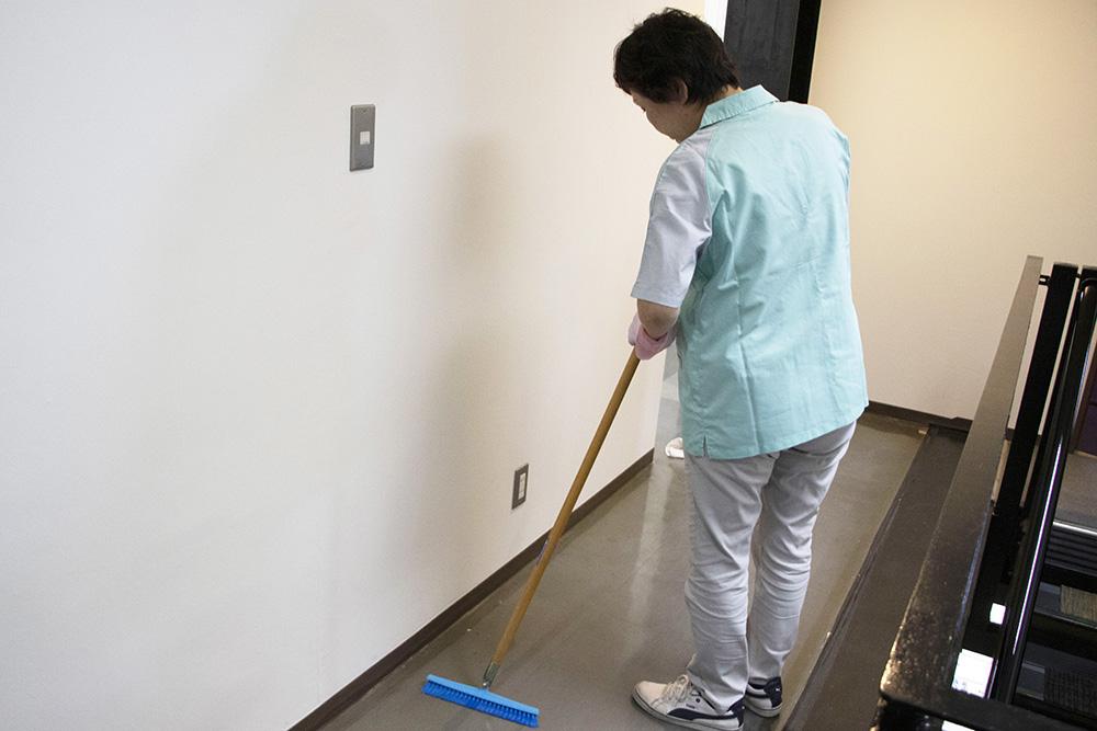 週2から働ける事務所の清掃スタッフ【週払いOK】