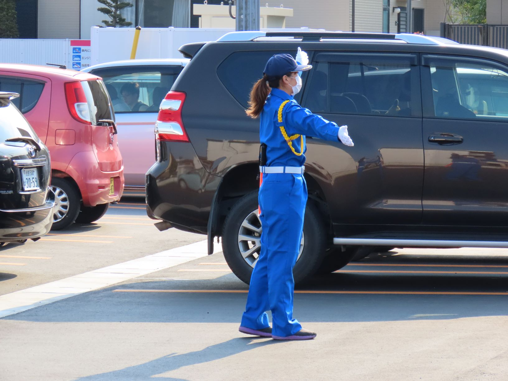 【空いた日、時間で勤務しよう!】週払いOK/未経験OK/交通誘導/松茂町